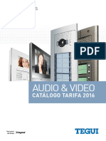 201602 Legrand Tegui Catálogo Videoporteros y Porteros 2016