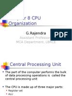 Unit IV Cpu Organization