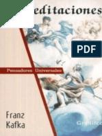 Franz Kafka Meditaciones