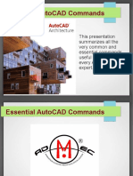 Most Essential AutoCAD Commands