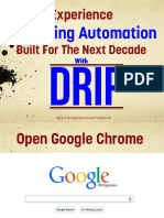 Experience Marketing Automation Built for the Next Decade Using DRIP