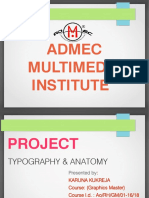 Anatomy Typography Basics