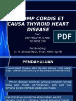 196035373 Decomp Cordis Ecausa Thyroid Heart Disease