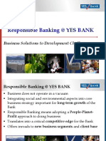 CSR ON YES BANK