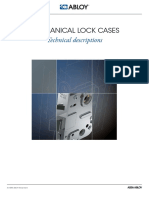 8811902 Abloy Mechanical Lock Cases Technical Descriptions