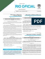 Diario oficial de Colombia n° 49.787 15 de febrero de 2016