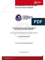 Murillo Jose Presa Materiales Region Arequipa
