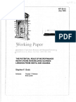 potentila role of micro finance