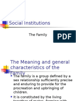 Family (Social Institutions)
