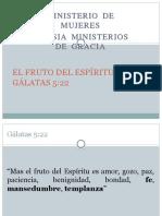 El Fruto Del Espíritu Santo