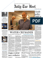 The Daily Tar Heel for April 15, 2010