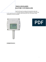 Temperature Measurement and Controller
