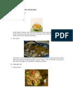 contoh tugas standar produksi
