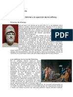 El Siglo de Pericles y La Aparición de Los Sofistas