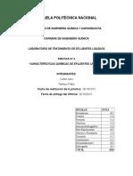 Práctica 2 Características Químicas