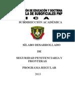 Seguridad Penitenciaria y Fronteras-2014