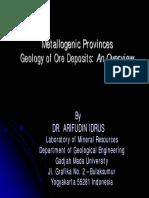 3. Geology of Ore Deposit