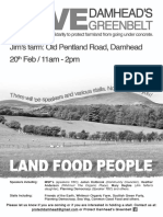 A4 - 20th Feb - Protect Damhead - Poster - Bw