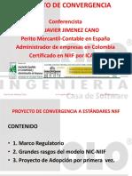 Proyecto de Convergencia a Estándares Niif