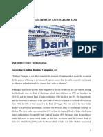 Lending Schmes of Nationalised Bank FINAL
