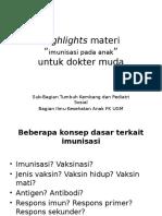 Highlights imunisasi.pptx