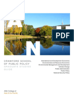 Crawford School Graduation Guide 2016