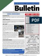 BPS Newsletter #3 2016