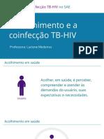 Manejo Hiv coificecção com tuberculose