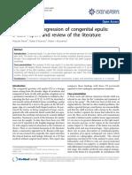 Spontaneous Regression of Conginetal Epulis