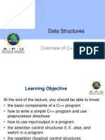 02-Overview of C++ (Part 1)