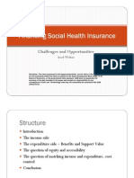 Financing Social Health Insurance