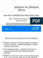 Social Protection for Children (China)
