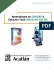 Aprendizajes de Civilcad y Estacion Total2