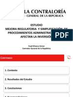 Estudio Mejora Regulatoria y Simplificación Administrativa