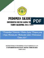 Pedoman Akademik 2013