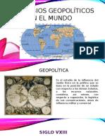 Cambios Geopoliticos en El Mundo