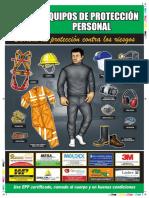 Afiche Equipos de Protección Personal 2016
