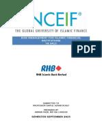RHB Islamic Bank Berhad 2014