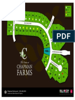 The Estates at Chapman Farms Plat Map