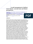 Diagnosis and Management of Miliary Tuberculosis