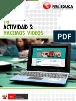 Tema 5 - Actividad Hacemos Videos