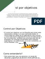 Control Por Objetivos