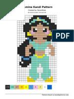 Jasmine cross stitch