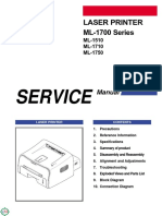 Manual Service Samsung ML-1510_ML-1710_ML-1750_ML-1700 Series