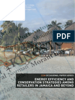 CEM, Energy Efficiency and Conservation Strategies among Retailers in Jamaica and Beyond, February 2013