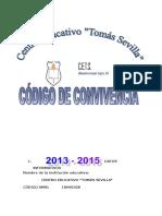 Codigo de Convivencia Tomas Sevilla