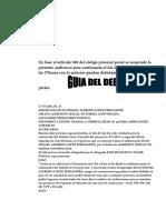 Modelo Debate Oral y Público Guatemala