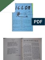Gombrowicz en revista Ciclon