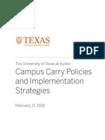 UT-Austin report on campus carry