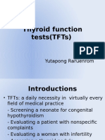Thyroid Function Tests(TFTs)
